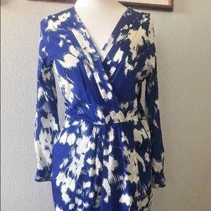 Yumi Kim long sleeve blue dress